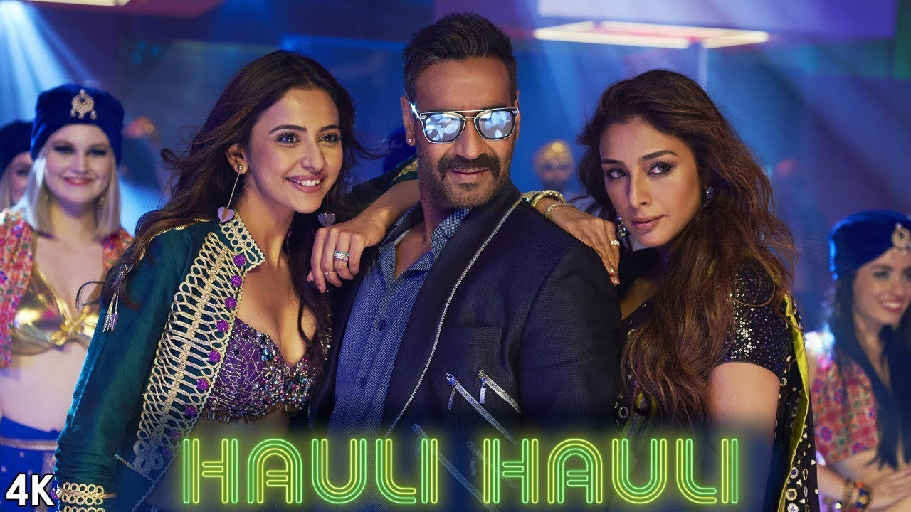 Rakul preet singh hot video song Hauli Hauli from De De Pyaar De Starring Ajay Devgn, Tabu, Rakul