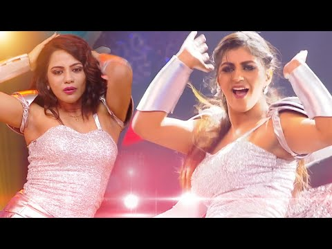 Big boss Yashika Aannand - Aishwarya dutta - hot Stunning Dance Performance in Ananda Vikatan Cinema Awards 2018
