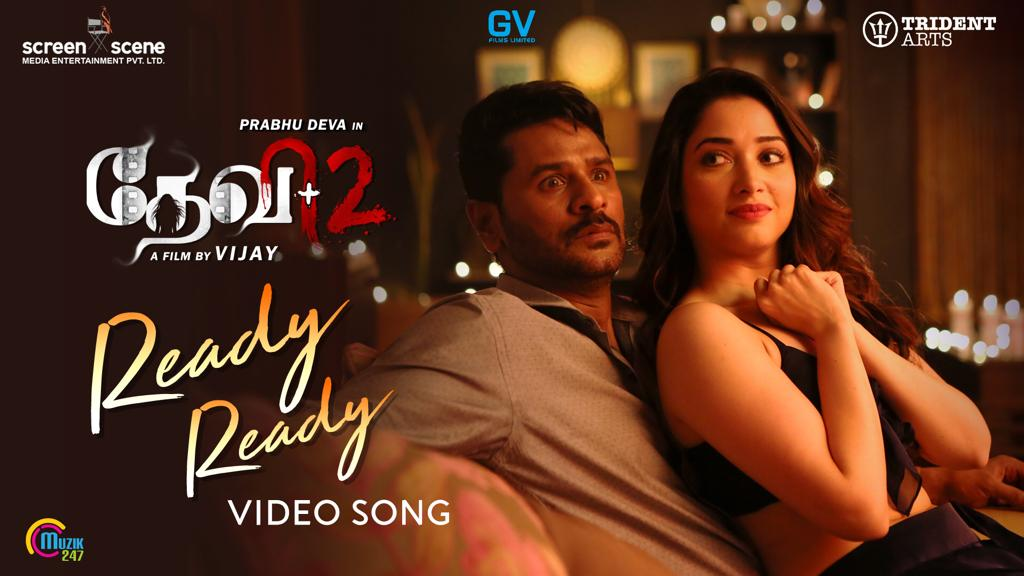 Devi 2-Ready Ready sexy hot Video Song-Prabhu Deva, Tamannaah-Vijay – Sam C S