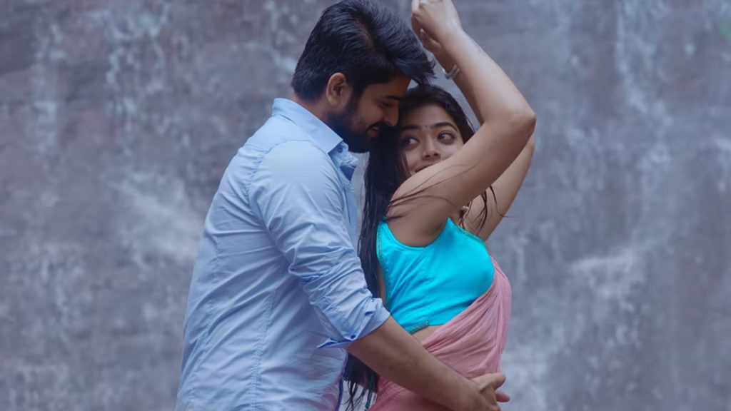 Ammaye Challo Antu Full Video Song Rashmika Mandanna Naga Shaurya snaps