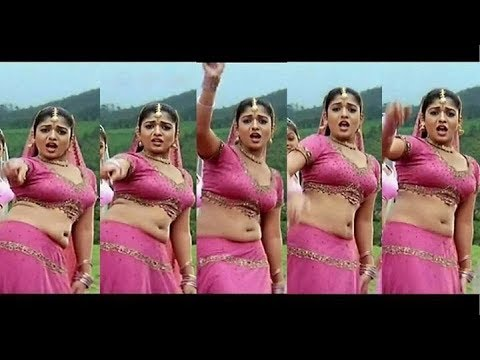 Sexy Hot Vintage body of Nayanthara from Ayya movie song
