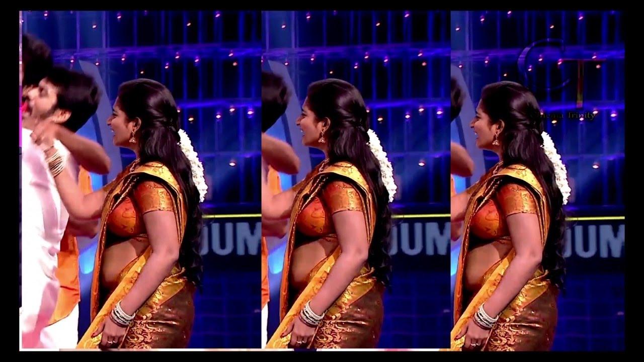 Tamil-Serial-Actress-hot-dance-sexy-side-boobs-show-deepika-rangaraju-photos