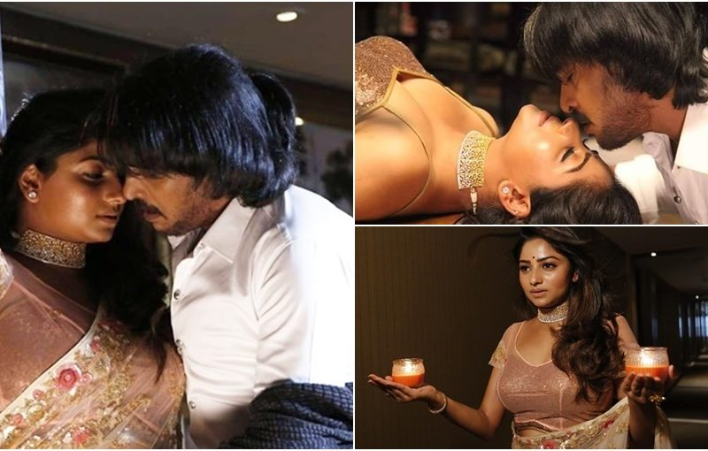 Rachitha ram Super star Upendra hot sexy Maatanaadi Maayavade song video cum snaps from i Love you kannada movie