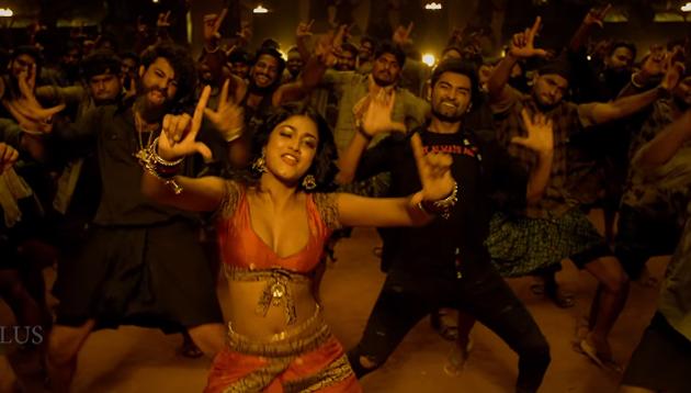 Gaddalakonda Ganesh from Valmiki - Jarra Jarra Video song seducing Dimple Hayathi