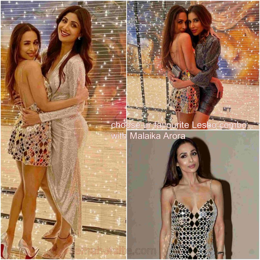 Bollywood Lesbo combo pick for your night sex session Shilpa Malaika Sophie