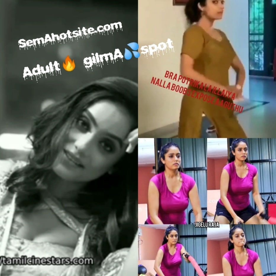 Actress Abhirami Venkatachalam sexy hot erotic busty boobs show videos