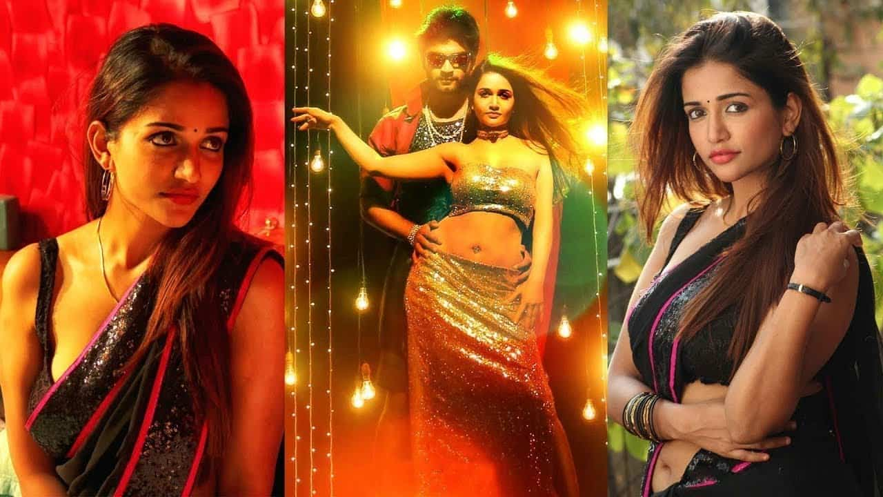 Semma Botha Aagathey Actress Anaika soti Sexy hot Romantic seducing Scenes cum photo gallery