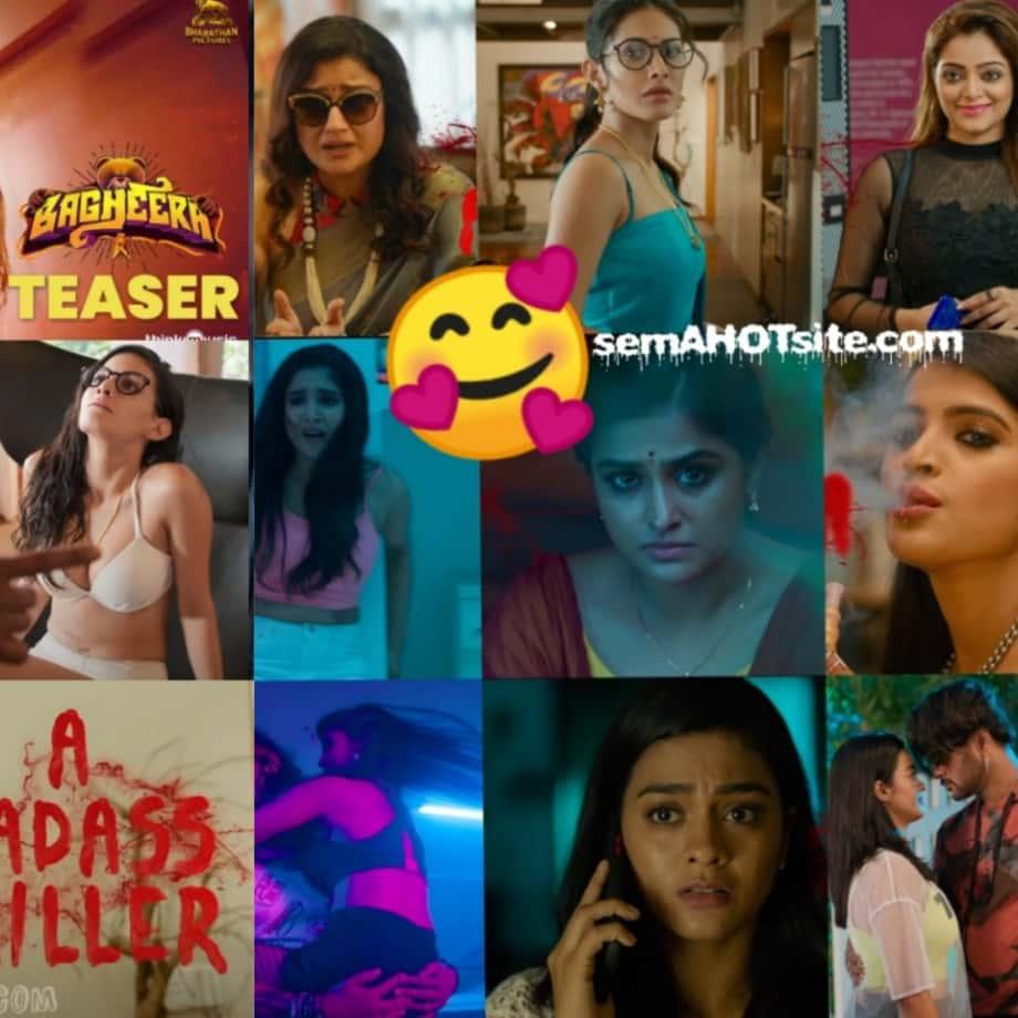 Bagheera teaser gif snaps featuring amyra sanchita janani